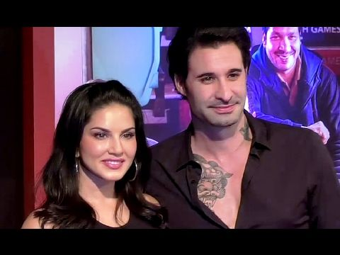 Sunny Leone With Husband At Grand Success Party Of DANGAL Movie.