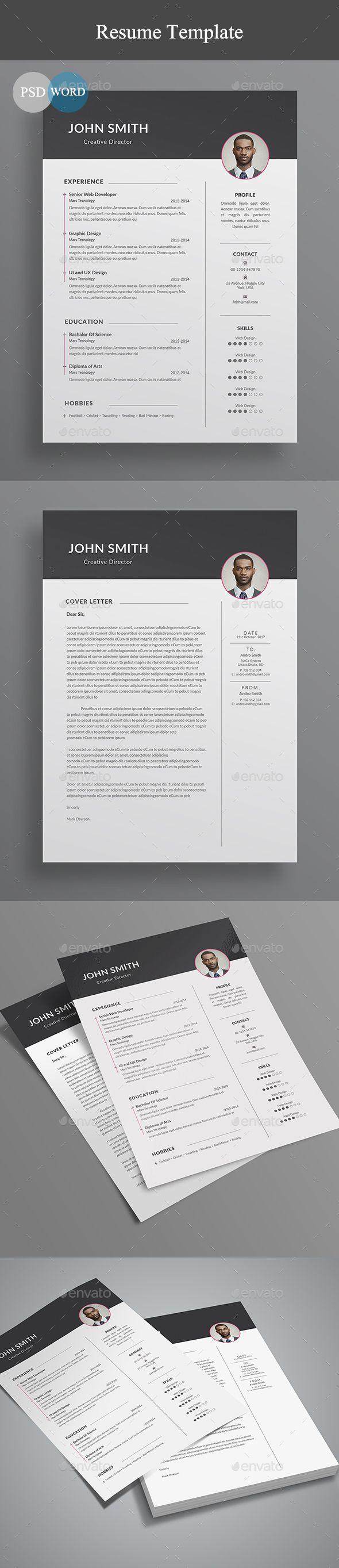 Resume by linzo91 Letterhead8.27脳11.69 with 0.25鈥?20bleeds PSD