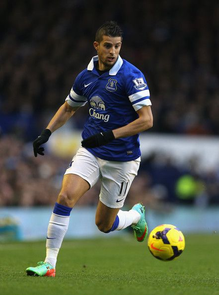 Kevin Mirallas of Everton