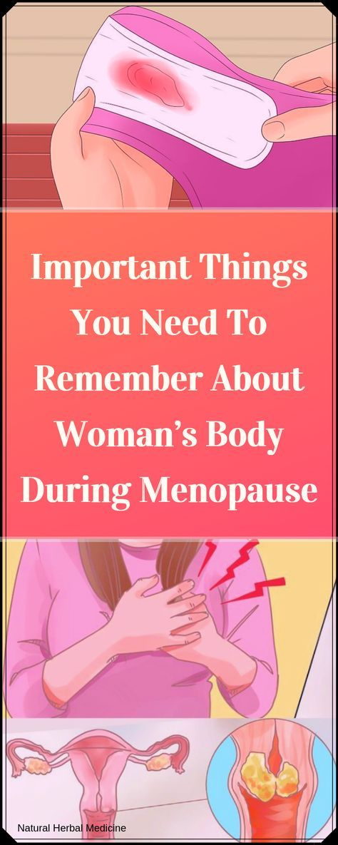 Important Things You Need To Remember About Woman's Body During Menopause