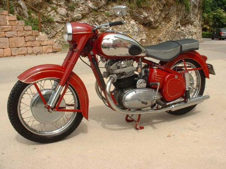1958 Jawa 500cc OHC Classic Motorcycle Pictures