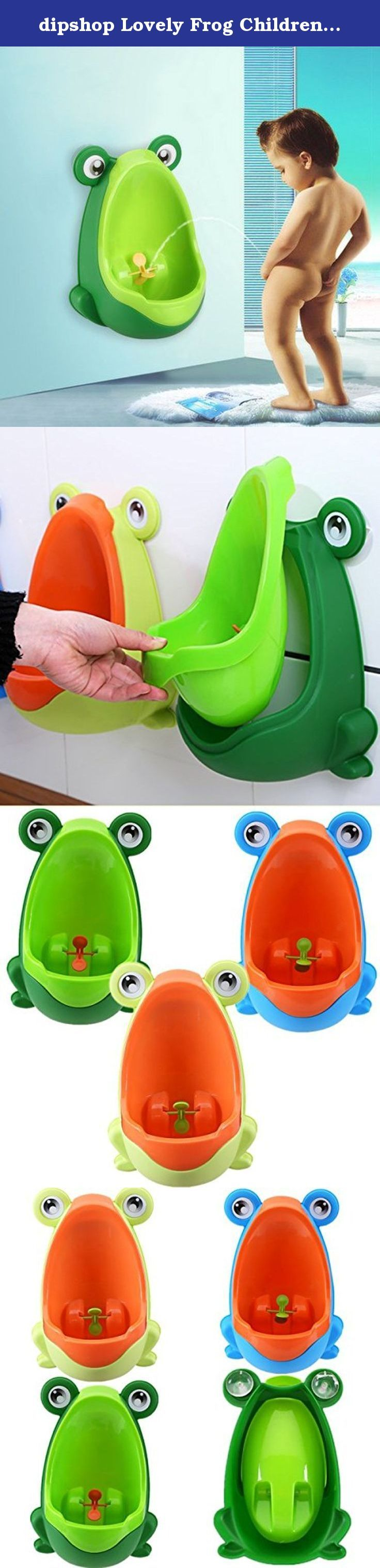 dipshop Lovely Frog Children Kids Potty Removable Toilet Training Kids Urinal Early Lear ( Fruit Green and Orange ). : Lovely Frog Children Kids Potty Removable Toilet Training Kids Urinal Early Learning Boys Pee Trainer Bathroom Environmentally friendly material, nontoxic and no peculiar smell. Urine groove separation design and light surface makes the item easy to clean. Lovely frog shape and rotating windmill improves your babies' interest and trains they pee by themselves. Strong…