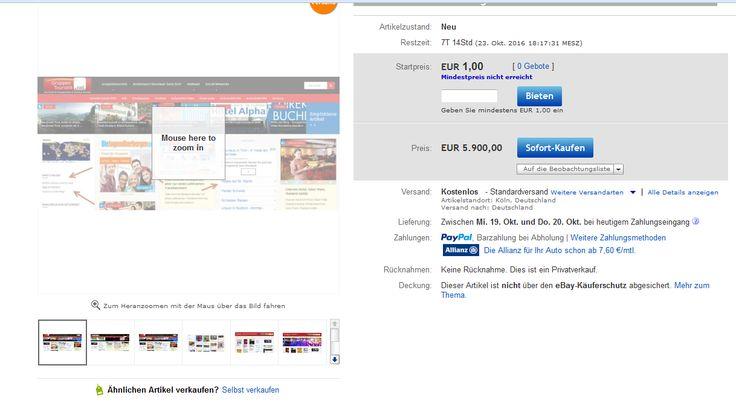 ALLE domains und Hosting im Block zu verkaufen. Echter Preishammer! http://dld.bz/eZUnE