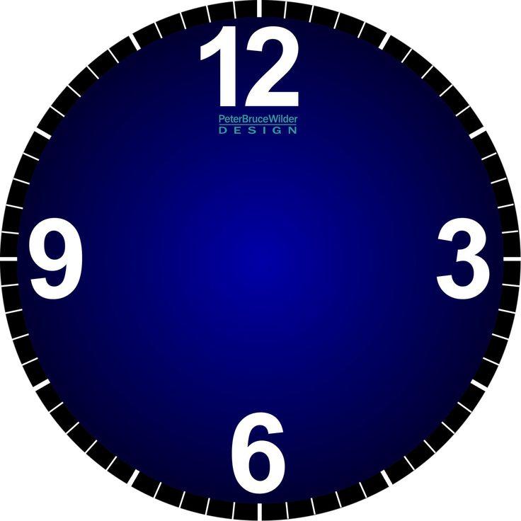 132 best clocks printable images on pinterest clock faces tag rh pinterest com Carpet Clock Faces White Sprinkle Cupcake Clip Art