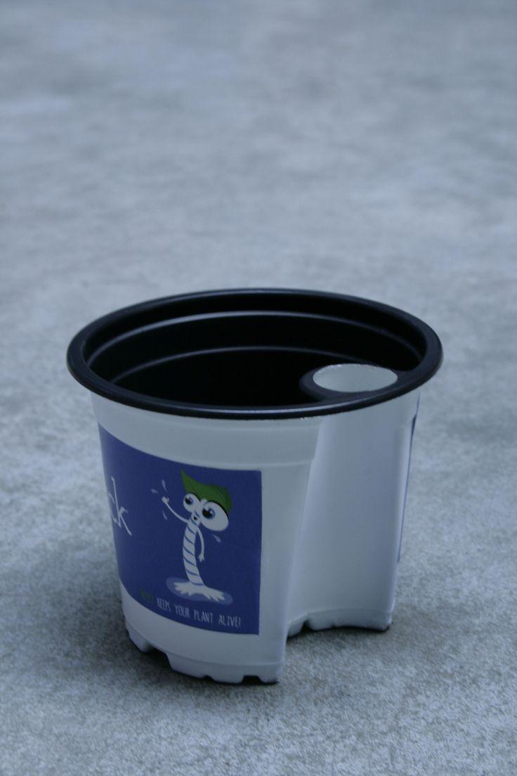 WaterWick T-pot growing pot