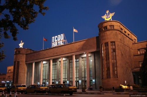 Central Station, Ankara, Turkey