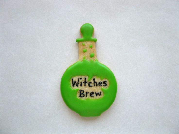witches brew sugar cookie by jinnee parr more fall cookies brew cookie ...
