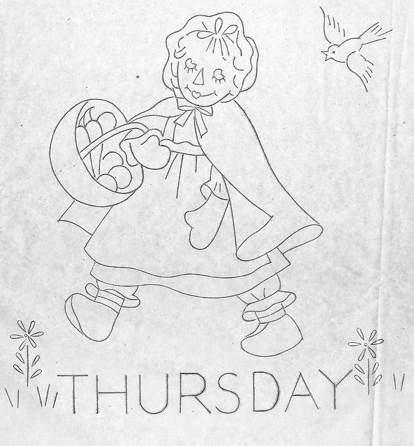 Raggedy Ann-Thursday