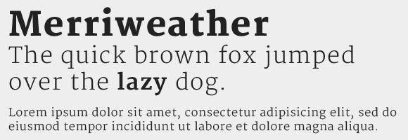 merriweather font - Google Search
