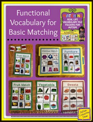 Vocabulary: Make it Engaging AND Age Appropriate - Autism Classroom Resources