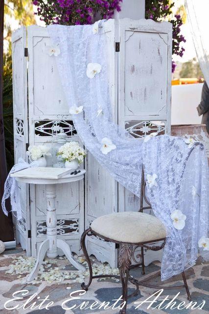 Shabby Chic Vintage Wedding #shabbychic #vintagewedding