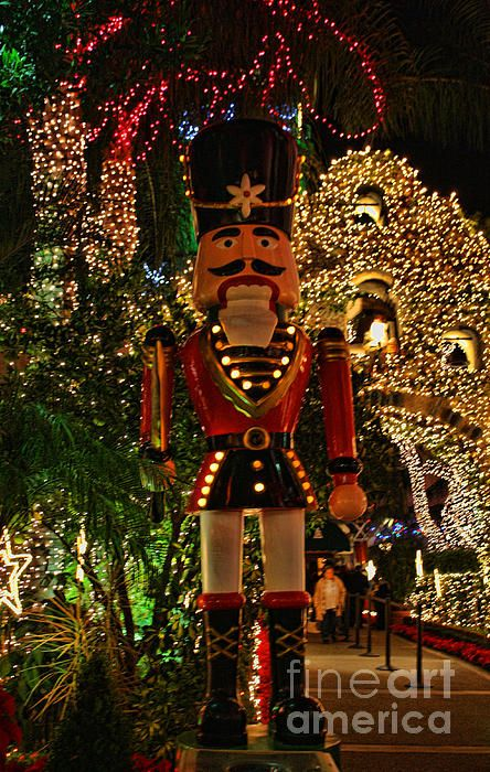 NUTCRACKERS~Mission Inn Christmas Nutcracker Photograph  - Mission Inn Christmas Nutcracker Fine Art Print