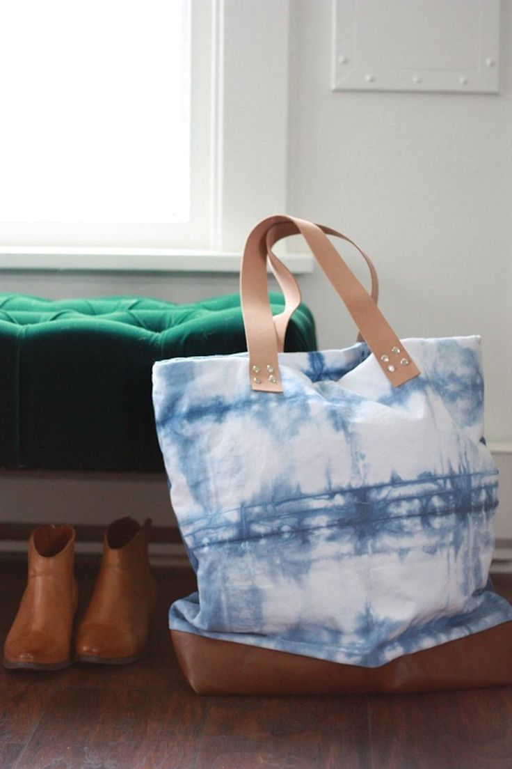Shibori Tie-Dye Cloth Projects + Tutorials | Apartment Therapy