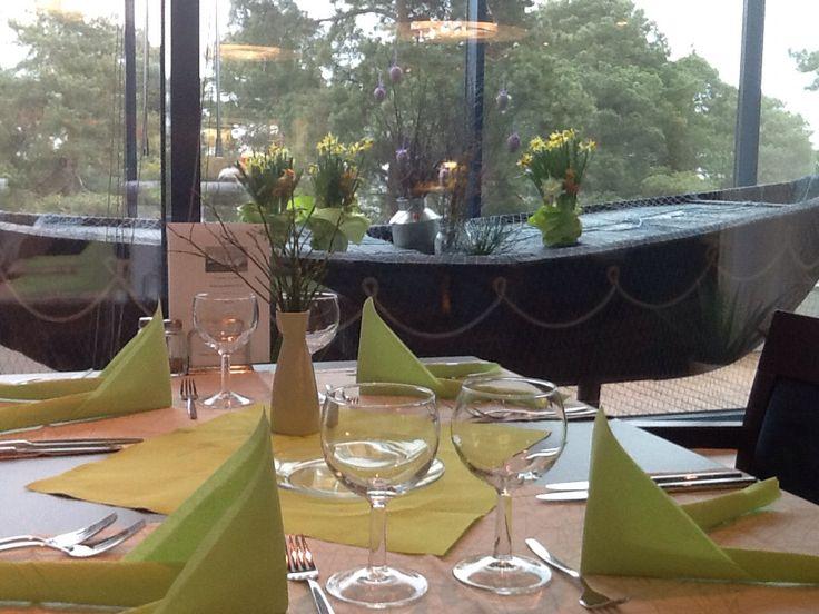Ravintola Pooki odottaa asiakkaita lounaalle.