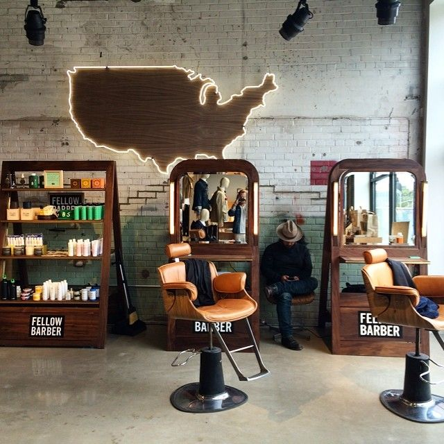Fellow Pop Up Barber Stations At The Ready. We Are In Detroit  @willysdetroit. Barbershop DesignBarbershop IdeasSalon ...