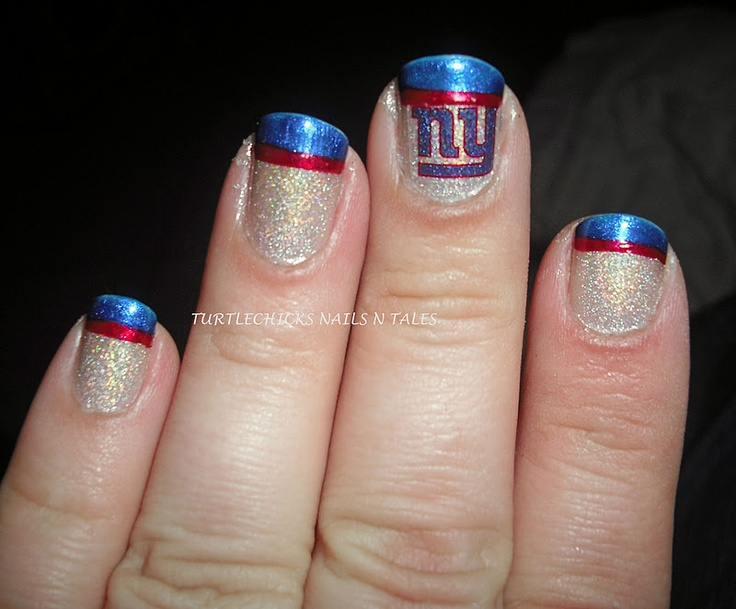 NY Giants nails