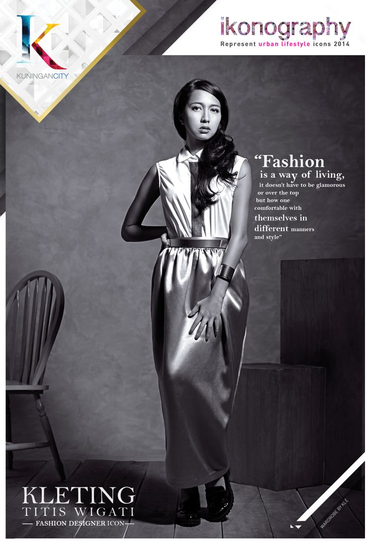KLETING TITIS WIGATI - Fashion Designer Icon for KUNINGAN CITY IKONOGRAPHY 2014