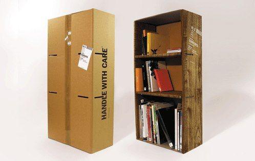 Recycling-Möbel aus Pappe.    http://stylespion.de/nachhaltigkeit-heute-wenn-die-verpackung-der-inhalt-ist/2858/