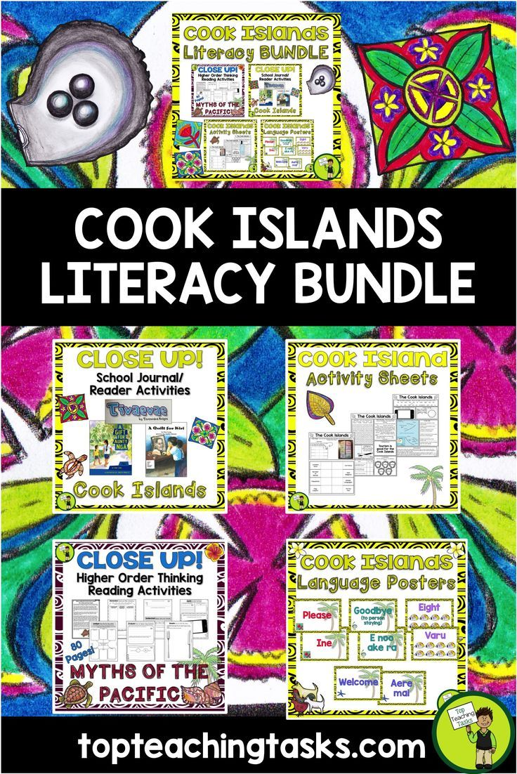Best 62 cook islands teaching resources images on pinterest 30 cook islands literacy bundle reading writing thinking and classroom display m4hsunfo