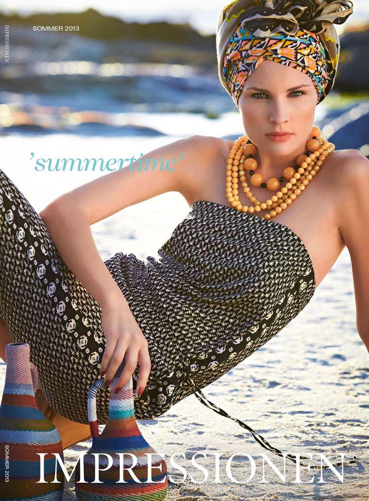 Impressionen Summer 2013  Летний каталог от Impressionen. Очарование и изысканность моделей способны покорить даже самых взыскательных клиентов.