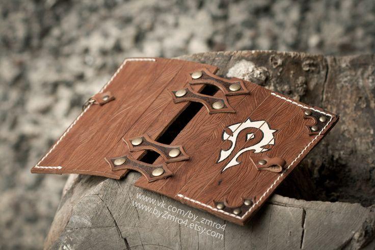 Warcraft Horde passport cover. Orcs passport. Horde by byZmro4