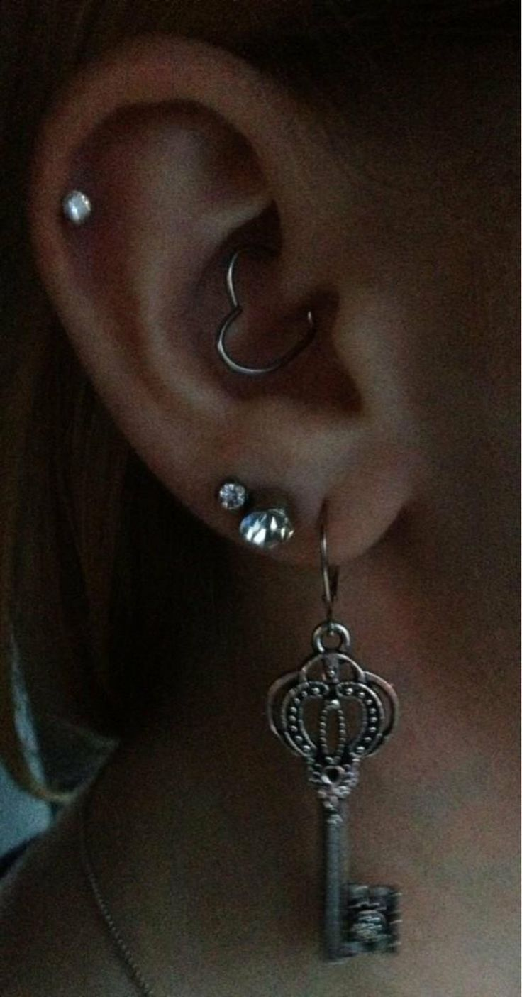 Seeing this Daith piercing really makes me want mine!