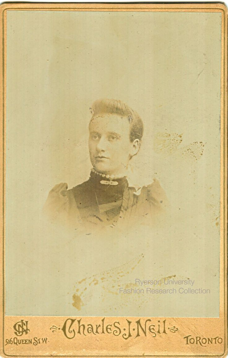 Headshot of a woman. Photographed by Charles J. Nell of Toronto. FRC 2002.04.253