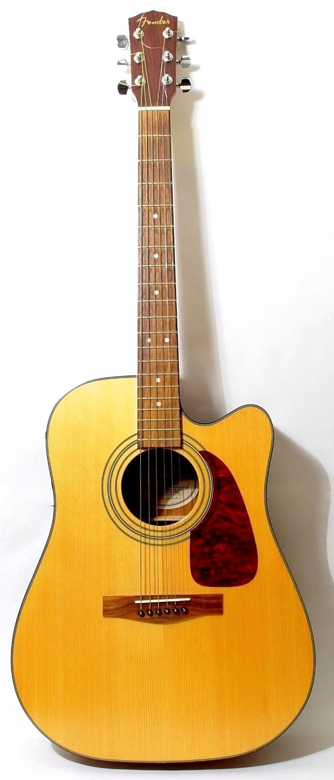 Fender DG14SCE NAT Electric Acoustic Guitar | Very Nice Condition + Stagg Case
