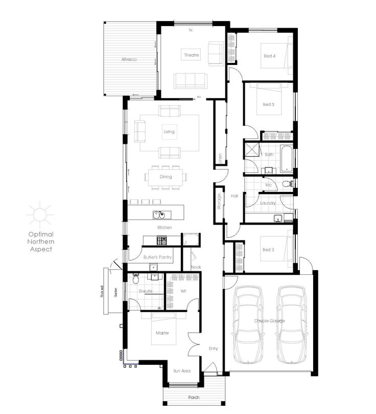 The Rosella 252 Offers The Very Best In Energy Efficient Home Design From Green  Homes Australia. Take A Look At The Floor Plan Here.
