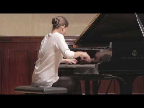 Leeds International Piano Competition press launch (18.10.16) - Anna Tsybuleva ★★★★★