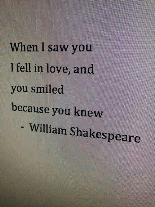 That smile..