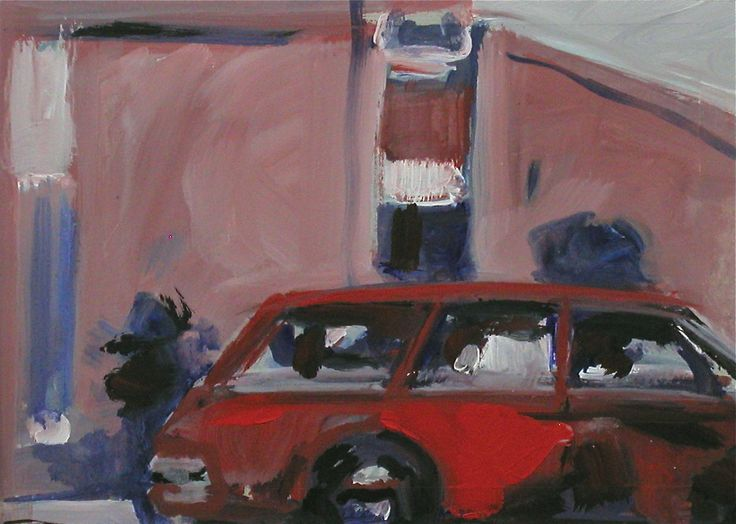 """Painting """"Con. Car"""""""