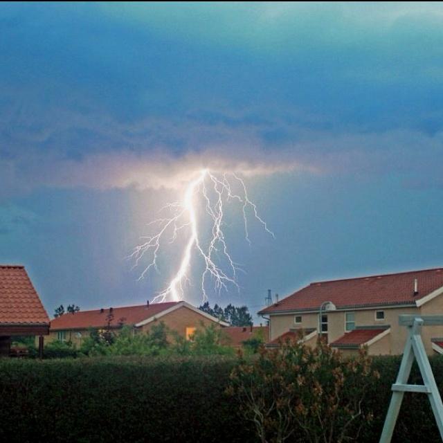 Lightning in Slangerup