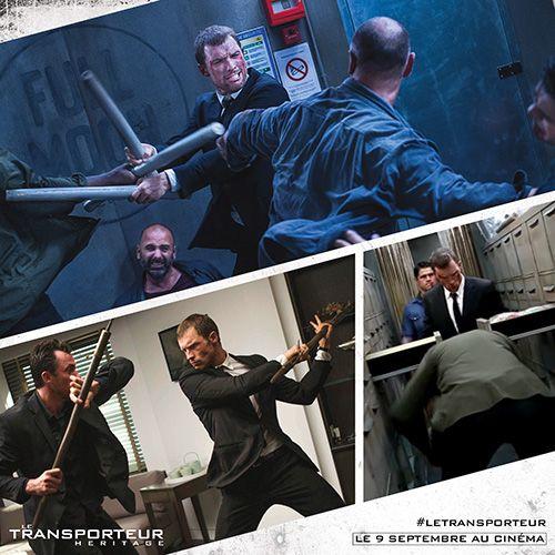 Indispensable n°3 du Transporteur : un objet contondant toujours à portée de main. Actuellement au cinéma ! #LeTransporteur #Action #Combats