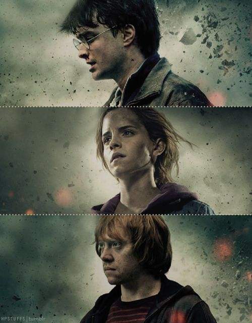 17 best images about family photos harry potter on pinterest bellatrix lestrange harry - Hermione granger et ron weasley ...