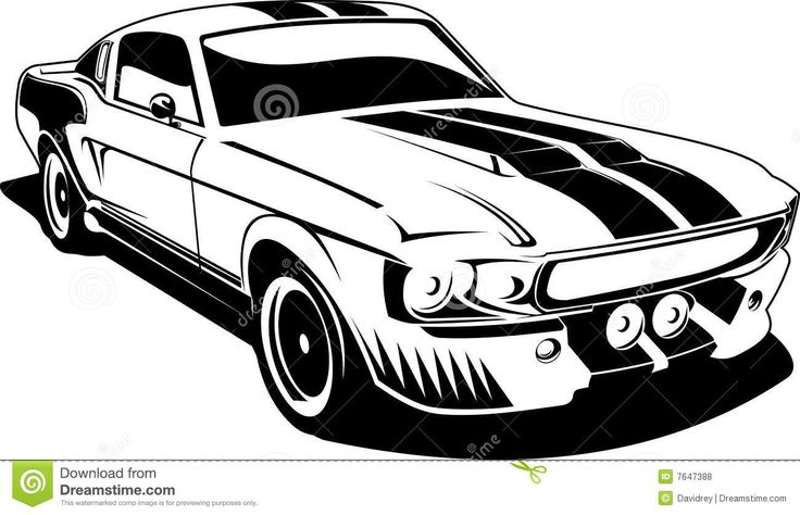Mustang Car Clipart | Clipart Panda - Free Clipart Images