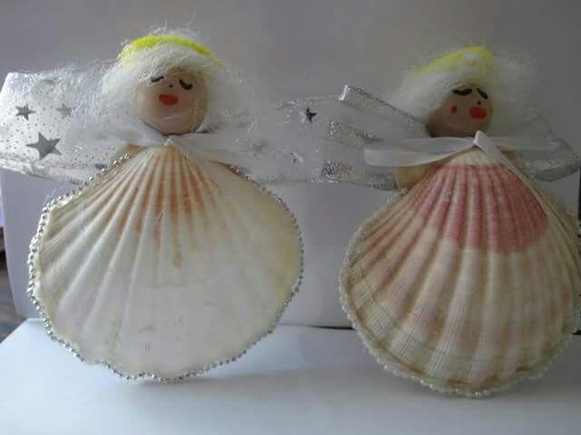 Decorations De Noel Avec Des Coquilles Saint Jacques