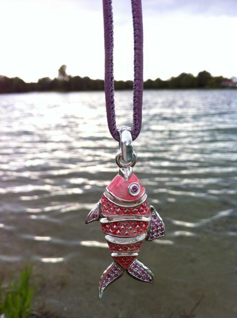 pinker Fisch :)