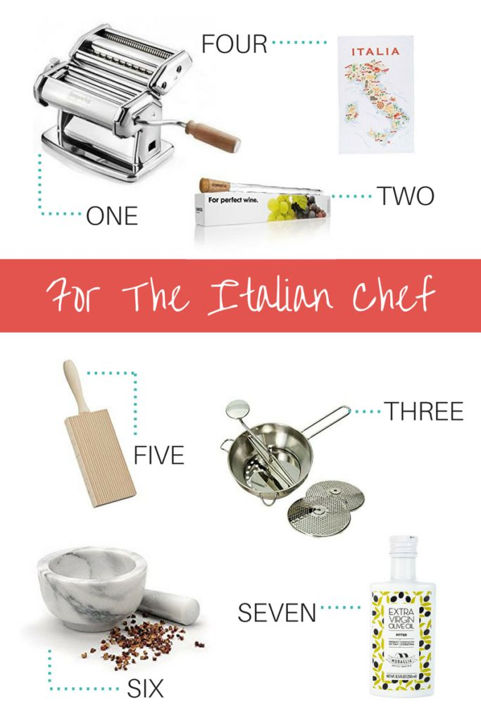 Italian Chef - Gifts for the Italian food Lover