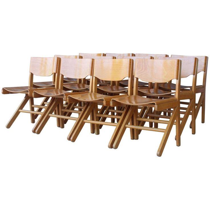 Dining Chairs By Joamin Baumann France 1960s Dining Room Chairs Modern Dining Chairs Dining Room Design