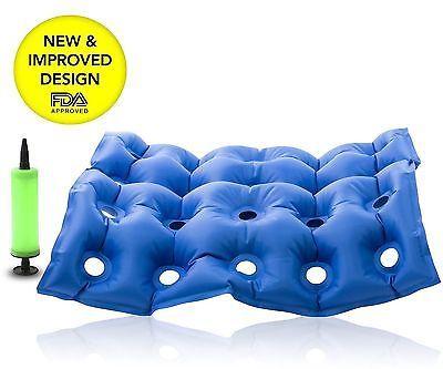 Cadeira De Rodas médica pela FDA Almofada De Assento De Ar Inflável Colchão Anti Hip bedsore Novo