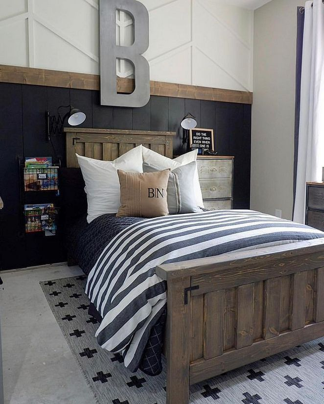19 The 30 Second Trick For Rustic Industrial Decor Pecansthomedecor Boy Bedroom Design Boys Bedroom Themes Boys Room Decor