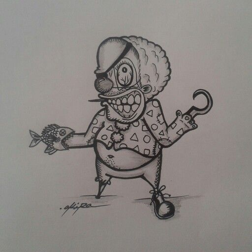 Clown pirata