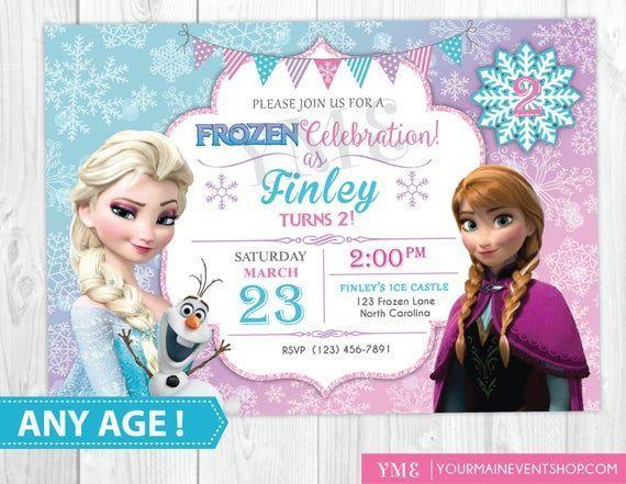Frozen Free Printable Invitations Templates Frozen Party Invitations Free Frozen Invitations Frozen Birthday Invitations