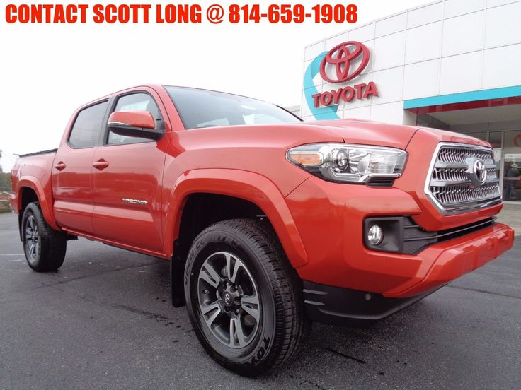 Nice Great 2017 Toyota Tacoma 2017 Double Cab 4x4 3.5L Tech Package 4WD New 2017 Tacoma Double Cab 4x4 TRD Sport Sunroof Navigation Heated Seats Inferno 2017/2018 Check more at http://24auto.tk/toyota/great-2017-toyota-tacoma-2017-double-cab-4x4-3-5l-tech-package-4wd-new-2017-tacoma-double-cab-4x4-trd-sport-sunroof-navigation-heated-seats-inferno-20172018/