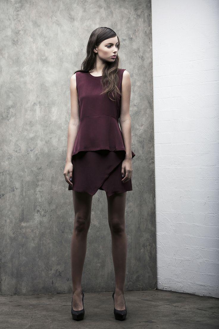 Monochrome Top . Ethereal Skirt