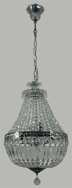 Le Pavillon 3 Light Basket Pendant (Le Pavillon/PD/SML) Lighting Inspirations – Bright Lighting