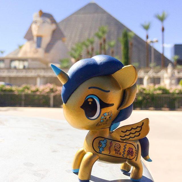 Cleo from Tokidoki at Luxor in Las Vegas