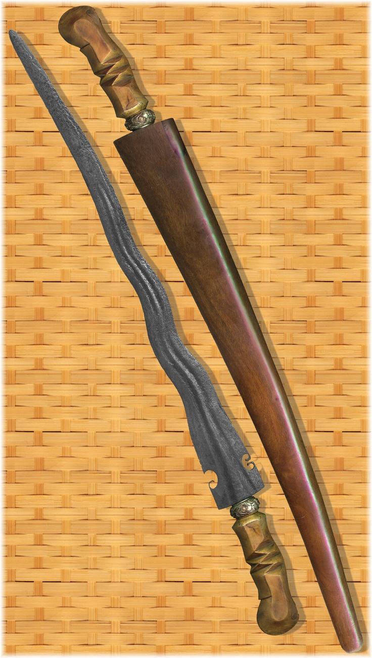 Antique Keris Pedang