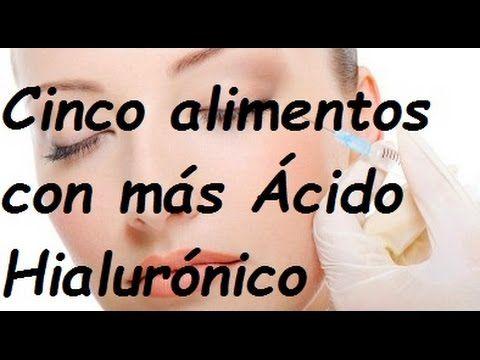 Alimentos ricos en Colageno / Remedios para reafirmar la piel - YouTube